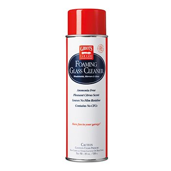 Foaming Glass Cleaner, 19 Ounces