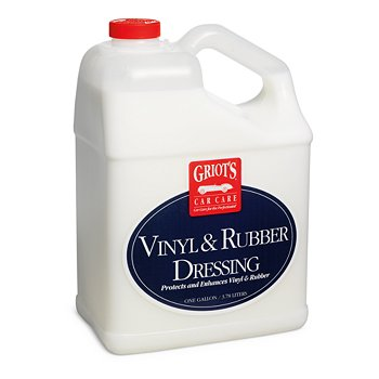 Vinyl & Rubber Dressing, One Gallon