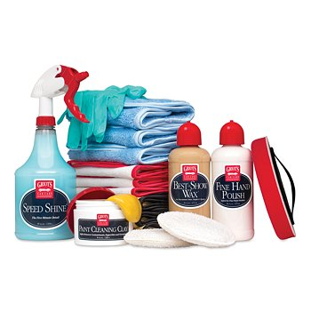 Hand Polish and Wax Kit