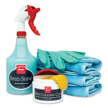 Paint Clay & Speed Shine® Kit
