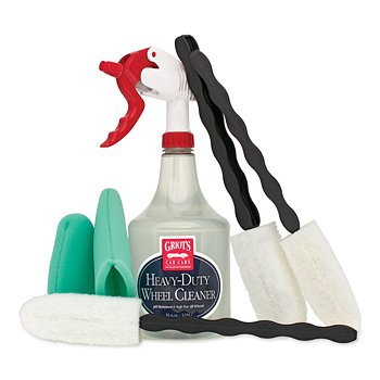 Heavy-Duty Wheel Cleaning Kit