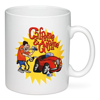 Caffeine & Gasoline® Coffee Mug