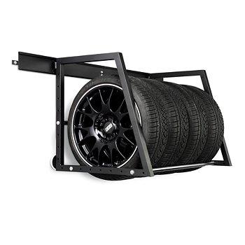 Heavy-Duty Wall Mounted Tire Storage Rack