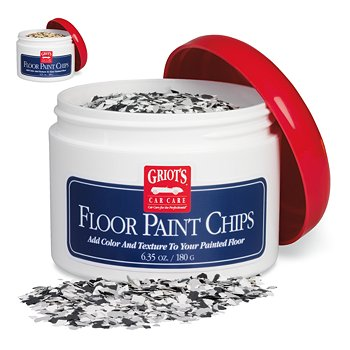 Floor Paint Chips, 180 Grams