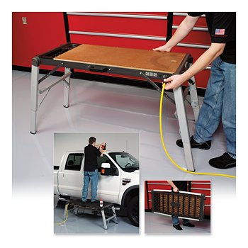 Portable Detailing Platform & Workbench