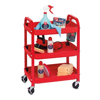 Compact Detailing Cart