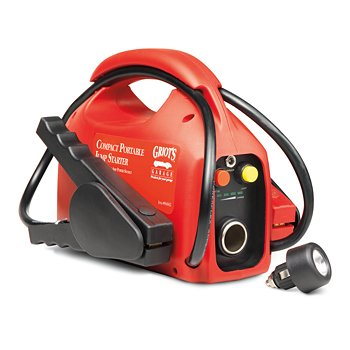 Compact Portable Jump Starter, 900 Amp