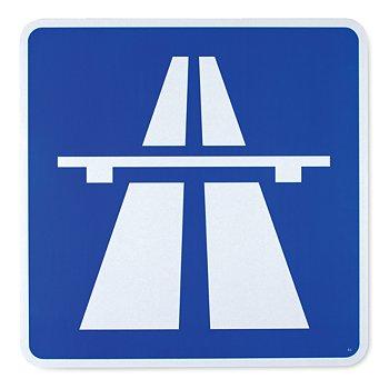 German-Made Entering Autobahn Sign