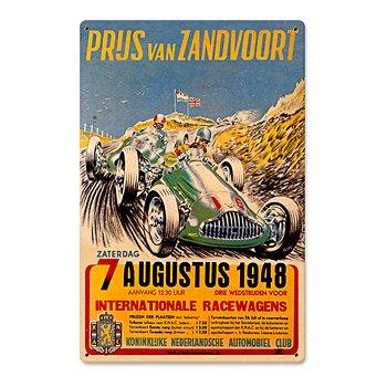 Prus Van Zandvoort 1948 Racing Sign