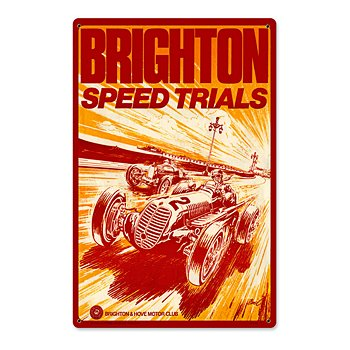 Brighton Speed Trials Sign