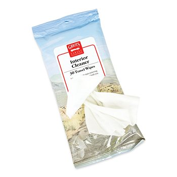 Interior Cleaner Travel Wipes, 30 Count