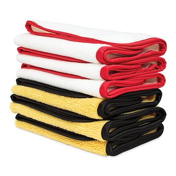 6-Piece Microfiber Cloth Set