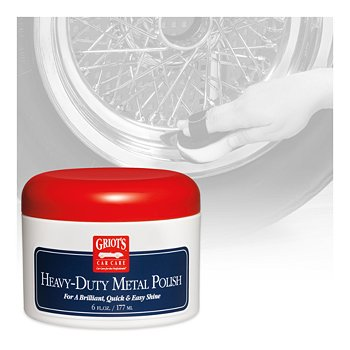 Heavy-Duty Metal Polish, 6 Ounces