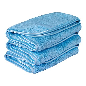 Microfiber Speed Shine® Cloths, Set of 3
