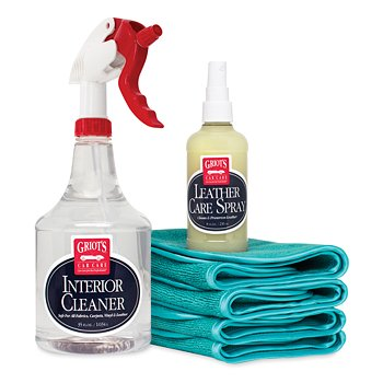 Leather Care Spray Kit