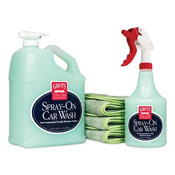 Complete Spray-On Car Wash Kit