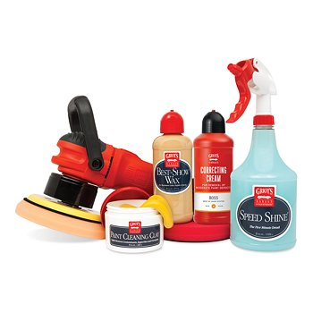 Machine Polish & Wax Kit