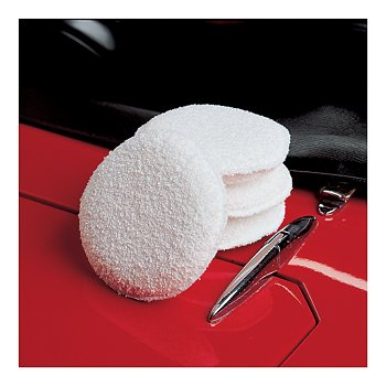 Cotton Polish Pads, Set of 4