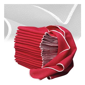 Microfiber Shop Towels, Set of 20