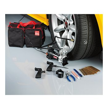 Tire Repair Kit with 12-Volt Air Compressor