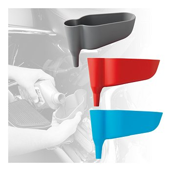 Compact Offset Funnels, Set of 3