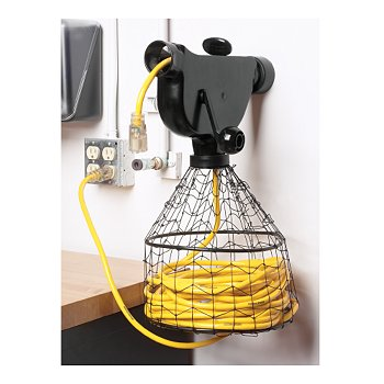 Wall-Mounted Cord Winder