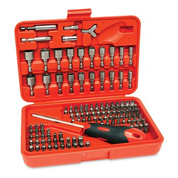 113-Piece Tamper-Proof Bit Set