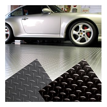 Diamond Garage Floor Mat