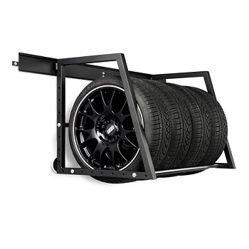 Heavy-Duty Wall Mounted Tire Storage Rack