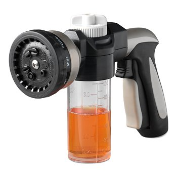 Multi-Pattern Hose Nozzle And Car Wash Dispenser